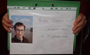 Nicolas Suppo a disparu en 2010 à Echirolles après avoir expliqué à ses collègues de travail qu'il partait manger.