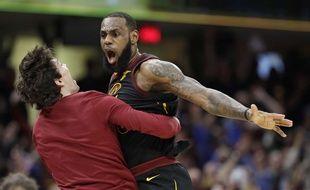 Lebron James a été monstrueux face aux Pacers.