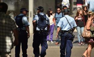 Des policiers à Sydney le 24 décembre 2014
