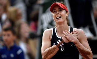Alizé Cornet à Roland-Garros le 26 mai 2016.