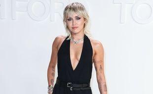La chanteuse et actrice Miley Cyrus