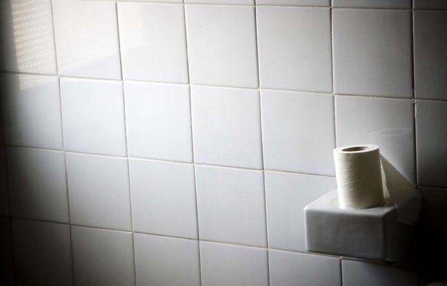 Illustration d'un rouleau de papier toilette.