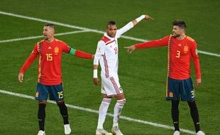 En Nesyri a marqué le second but marocain.