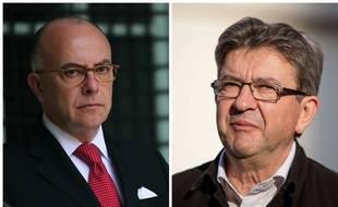 La guerre est déclarée entre Bernard Cazeneuve et Jean-Luc Mélenchon.
