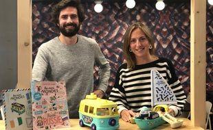 Quentin Ory et Marine Bocabeille ont créé les Mini mondes