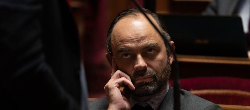 Edouard Philippe, le 14 février 2019 à l'Assemblée nationale.