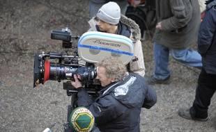 Strasbourg le 04 0 22011. Dernier jour de tournage de Sherlock Hiolmes 2 place de la cathédrale dirigé par Guy Ritchi.  Explosion 1 et 2