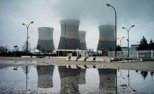La centrale nucléaire du Bugey, à Saint-Vulbas en Suisse, le 30 mars 2013