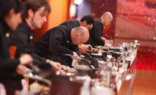 Extrait de la saison 3 de l'émission culinaire de TF1, «Masterchef».