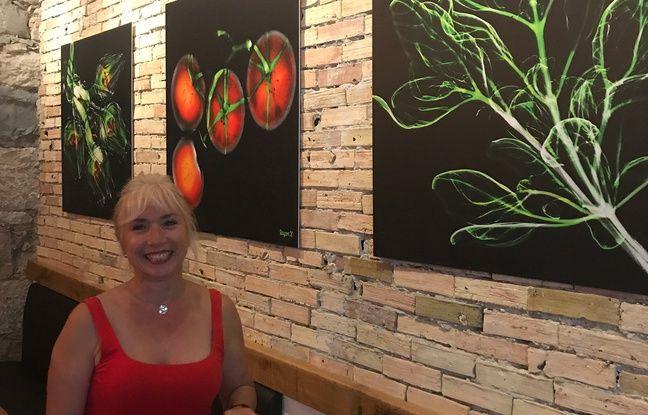 Valérie Marco a passé aux rayons X les légumes niçois.