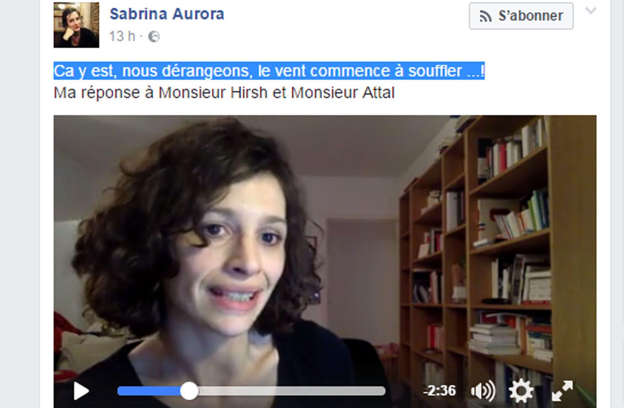 L'interne Sabrina Ali Benali contre l'AP-HP, histoire d'une confusion