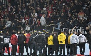 Des échauffourées avaient éclaté le 14 octobre à l'issue de la rencontre entre Guingamp et Rennes.