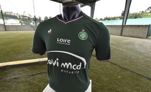 Un mannequin avec un maillot de l'AS Saint-Etienne (photo d'illustration).