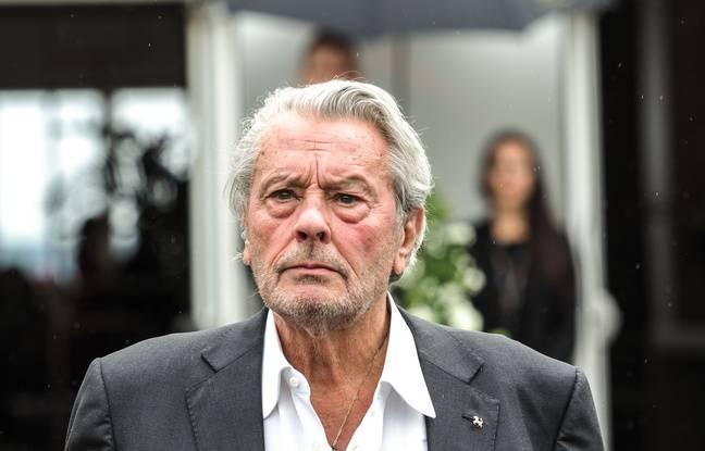 Alain Fabien Delon publie un cliché rassurant de son père après l'AVC
