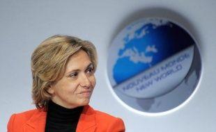 """La ministre du Budget et porte-parole du gouvernement, Valérie Pécresse, a réaffirmé mardi que la France entendait """"enclencher"""" le mouvement de la taxe sur les transactions financières tout en souhaitant une solution européenne."""