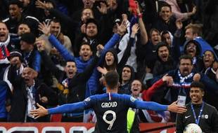 Olivier Giroud a encore marqué lors de France-Turquie, le 14 octobre 2019 au Stade de France.