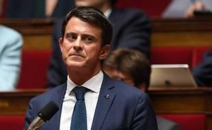 Manuel Valls, le 2 octobre 2018 à l'Assemblée nationale.