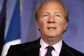 Brice Hortefeux à Marcq-en-Baroeul, le 17 février 2011, alors ministre de l'Intérieur.