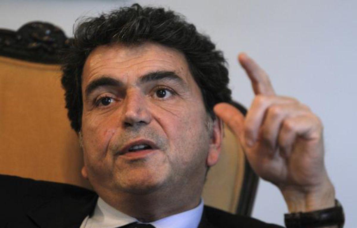 Le secrétaire d'Etat au Commerce extérieur, Pierre Lellouche, le 9 décembre 2011, à la Havane (Cuba). – E. DE LA OSA / REUTERS