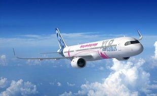 Une chaîne d'assemblage de l'A321XLR va voir le jour à Toulouse mi-2022.
