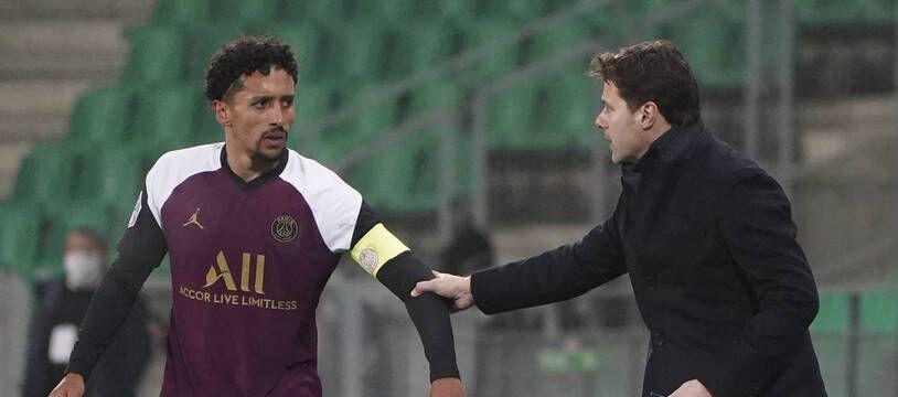 Mauricio Pochettino s'est notamment beaucoup appuyé sur son capitaine Marquinhos.