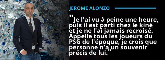 Jérôme Alonzo, éphémère coéquipier du suisse Yakin