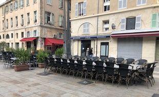 Très peu de restaurant ont bravé l'interdiction d'ouvrir à Marseille.