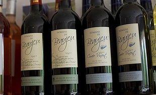 Vin de pays des Bouches du Rhône, en septembre 2009.