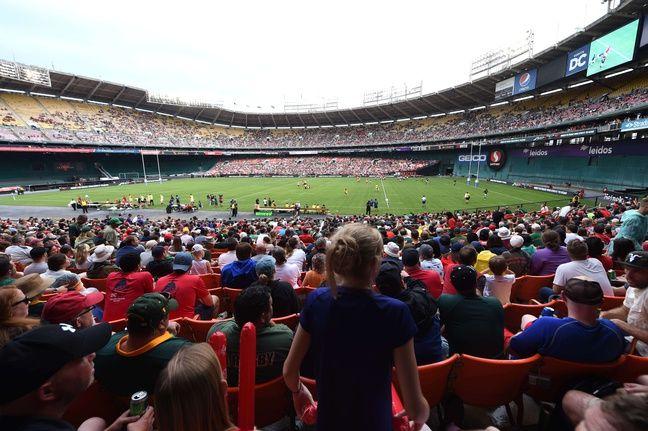 Le RFK Stadium où s'entraîneront les Girondins à Washington.