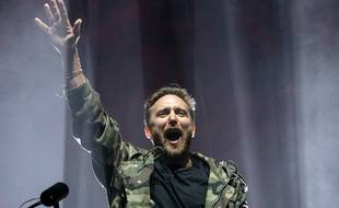 David Guetta au Festival des Vieilles Charrues, en juillet 2019.