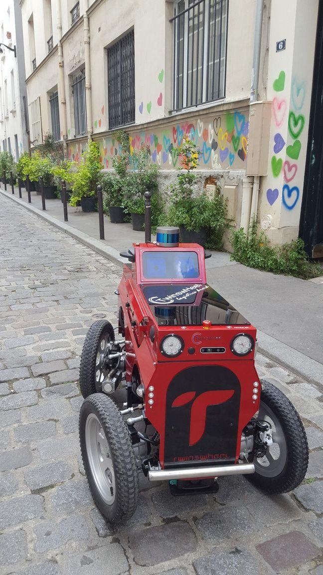 L'un des robots de Twinswheel qui seront testés dans le centre-ville de Montpellier