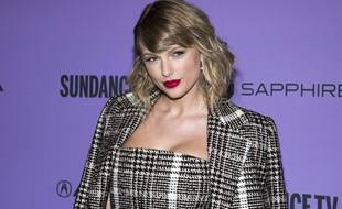 Taylor Swift à la première de « Miss Americana » en janvier 2020