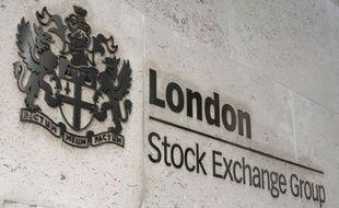La Bourse de Londres (illustration).