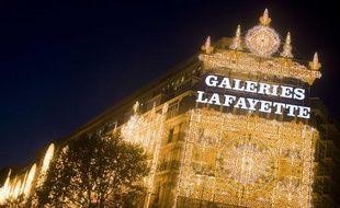 Les ventes du magasin Galerie Lafayette du boulevard Haussmann à Paris ont progressé de 16% entre janvier et avril 2012.