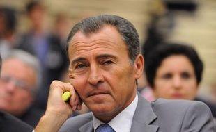 Le député des Alpes Maritimes et cofondateur de la Droite populaire Lionnel Luca, lors de la convention UMP sur l'immigration, le 7 juillet 2011 à l'Assemblée nationale.