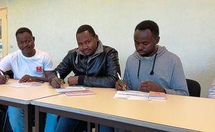 Des migrants ont signé un contrat avec Synergie Saint-Herblain