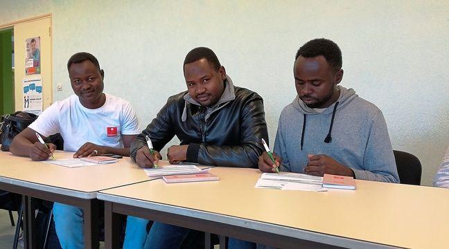 Nantes: Des réfugiés formés et embauchés dans des secteurs qui peinent à recruter