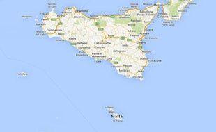 Le bateau a fait naufrage entre Malte et la Sicile