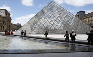 Illustration du Louvre, 7 juin 2017.