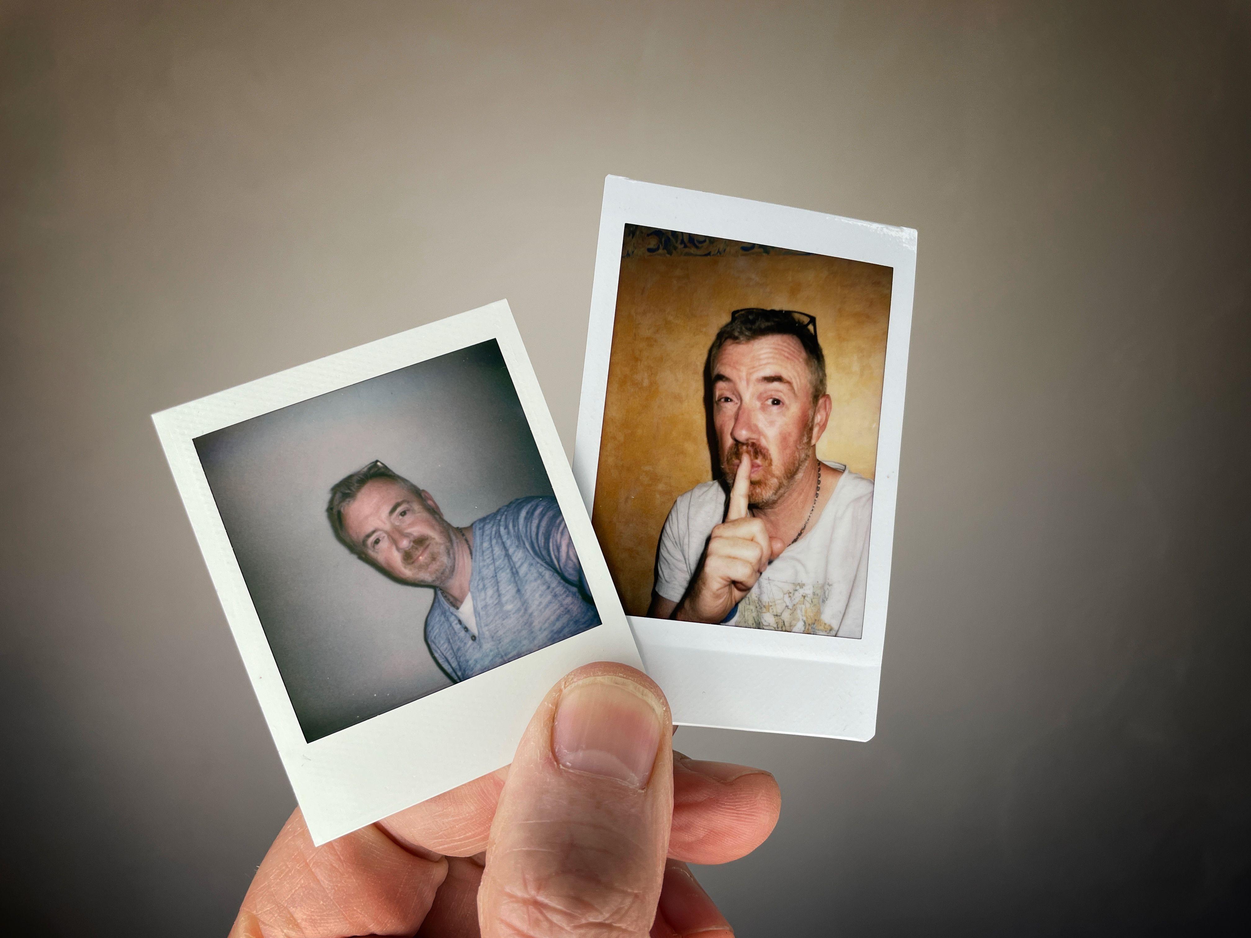 Polaroid Go ou Fujifilm Instax Mini: d'abord une question de format.
