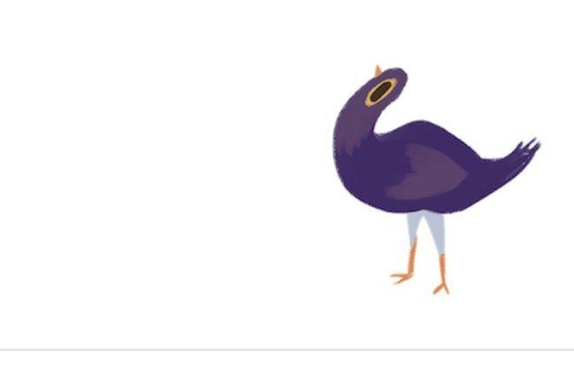L'oiseau «Trash Doves»