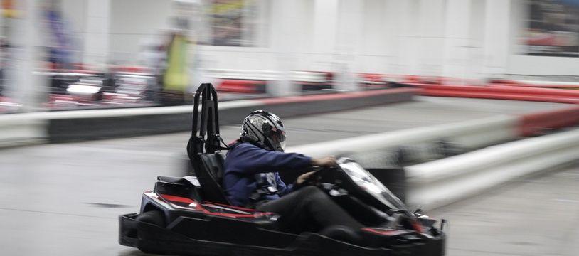 L'accident est survenu dans un karting indoor à Augny, non loin de Metz, en Moselle. Illustration