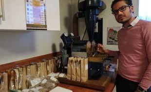 Veda Viraswami a participé aux championnats du monde de torréfaction de café en Chine.