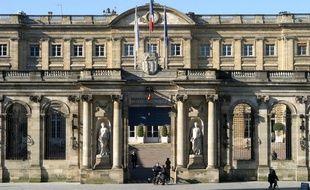 L'hôtel de ville de Bordeaux