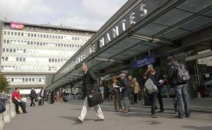 La gare SNCF de Nantes, entrée nord.