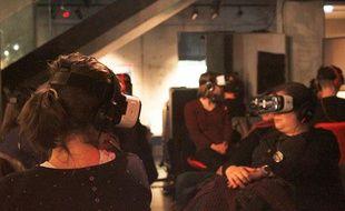 Les deux premières soirées de cinéma en réalité virtuelle à Strasbourg ont eu lieu en mars et en avril.