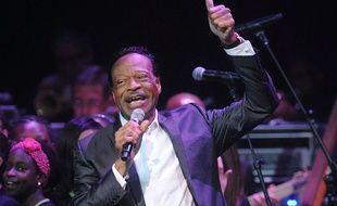 Le chanteur Edwin Hawkins le 10 juin 2014 à New York