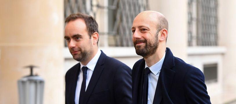 Sébastien Lecornu et Stanislas Guérini