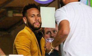 Neymar en tribunes lors de la Copa América, le 2 juillet 2019.
