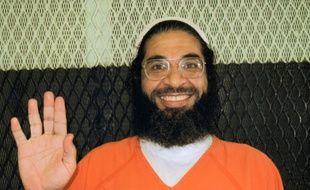Photo non datée fournie par Reprieve UK le 25 septembre 2015 montrant le  dernier résident britannique détenu à Guantanamo, Shaker Aamer, qui va être prochainement libéré par les autorités américaines après plus de 13 ans de détention sans inculpation